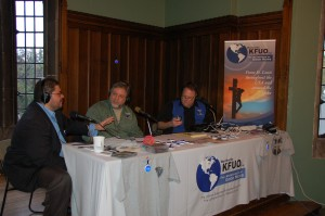 Dr. Leo Sanchez is interviewed live by KFUO Radio during the 175th anniversary celebration. Click to download full size.