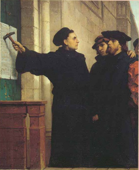 an analysis of the doctrine of martin luther in lectures on galatians