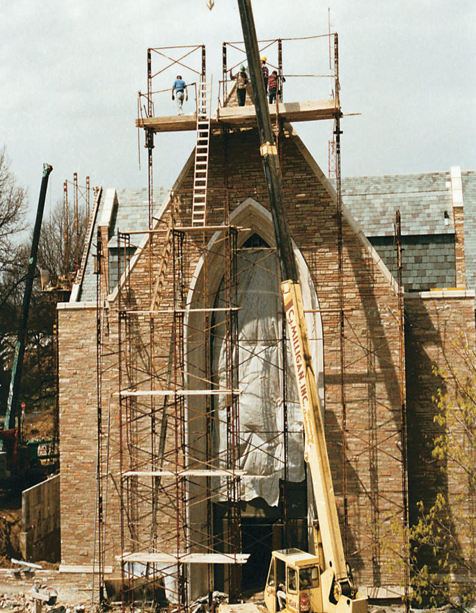 The Chapel of St. Timothy and St. Titus, Concordia Seminary 1992