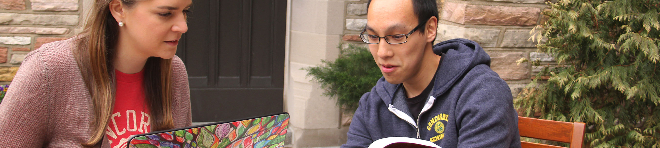 Theological resources at Concordia Seminary