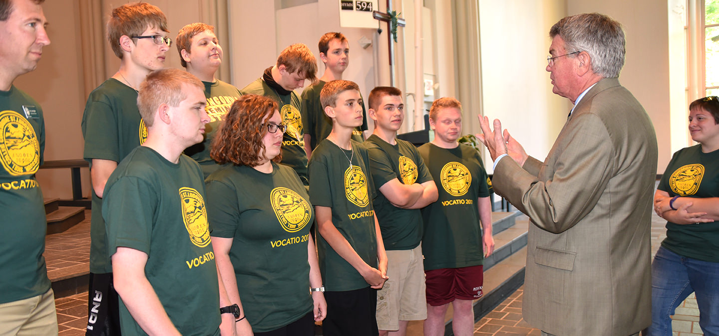 Events for for high school students at Concordia Seminary