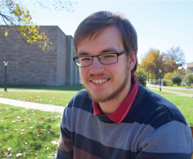 Niklas Brandt became interested in coming to Concordia Seminary in 2013 after attending a symposium at Lutheran Theological Seminary in Oberursel, Germany. Photo: Jackie Parker