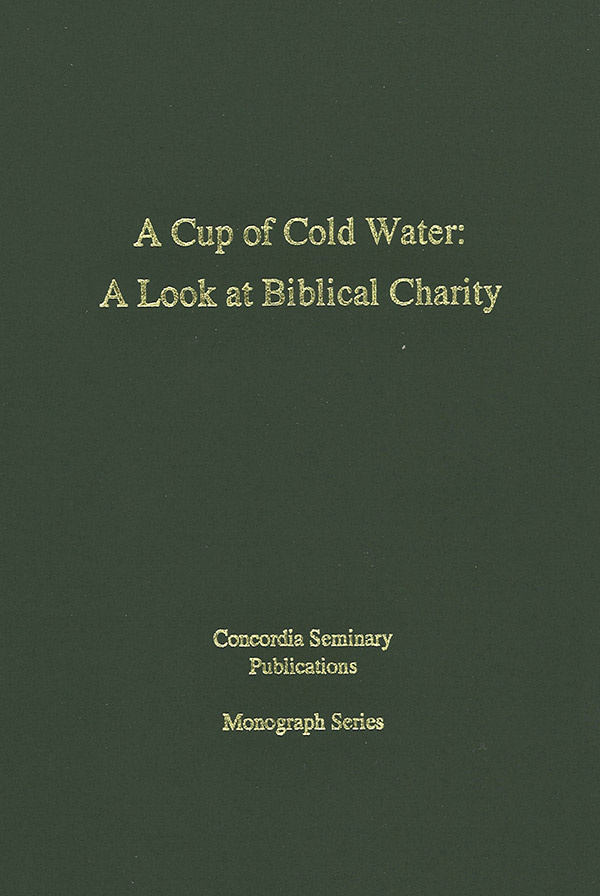 A Cup of Cold Water cover