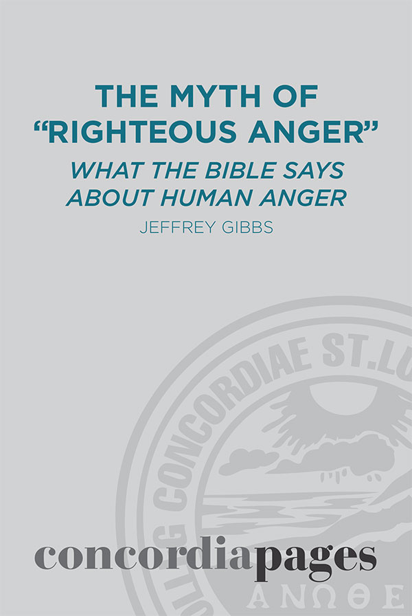 The Myth of Righteous Anger cover