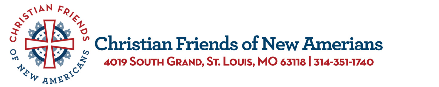 Christian Friends of New Americans logo